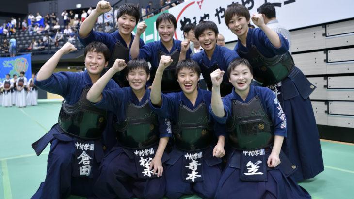 令和元年度玉竜旗大会女子、中村学園女子がまたも守谷を下し、4連覇達成