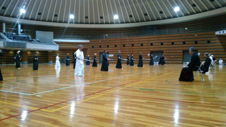 大阪府剣道連盟居合道部・第二回特練会