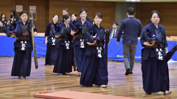 第38回全日本女子学生剣道優勝大会|誌面で紹介できなかった序盤~中盤の戦い